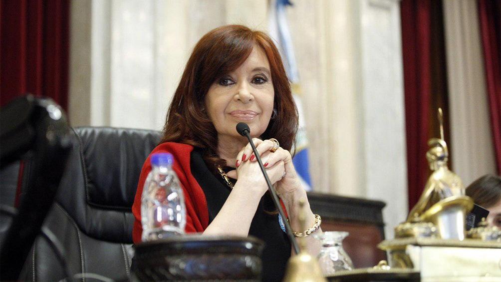 Cristina Fernández de Kirchner envió su saludo a través de Twitter.
