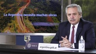 El mandatario encabeza el anuncio por videoconferencia, desde Olivos.
