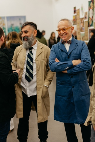 Leo Chiachio y Daniel Giannone. Gentileza Galería Ruth Benzacar