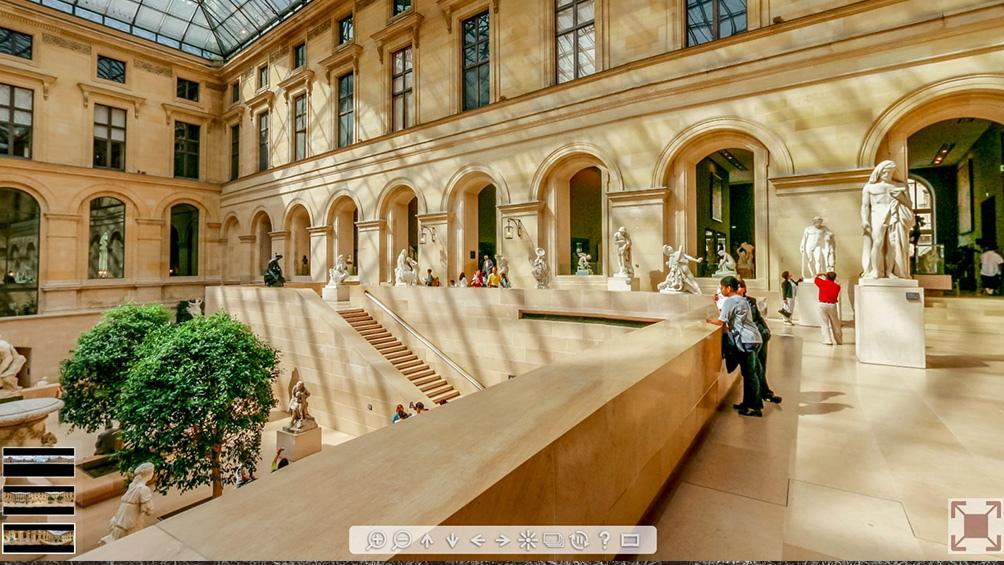 El Louvre durante el 2020  tuvo una muy buena repercusión a sus propuestas online.