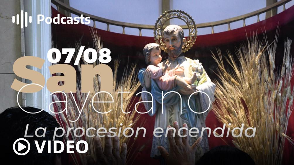 Sin procesiones y con misas televisadas, hoy se celebra San Cayetano