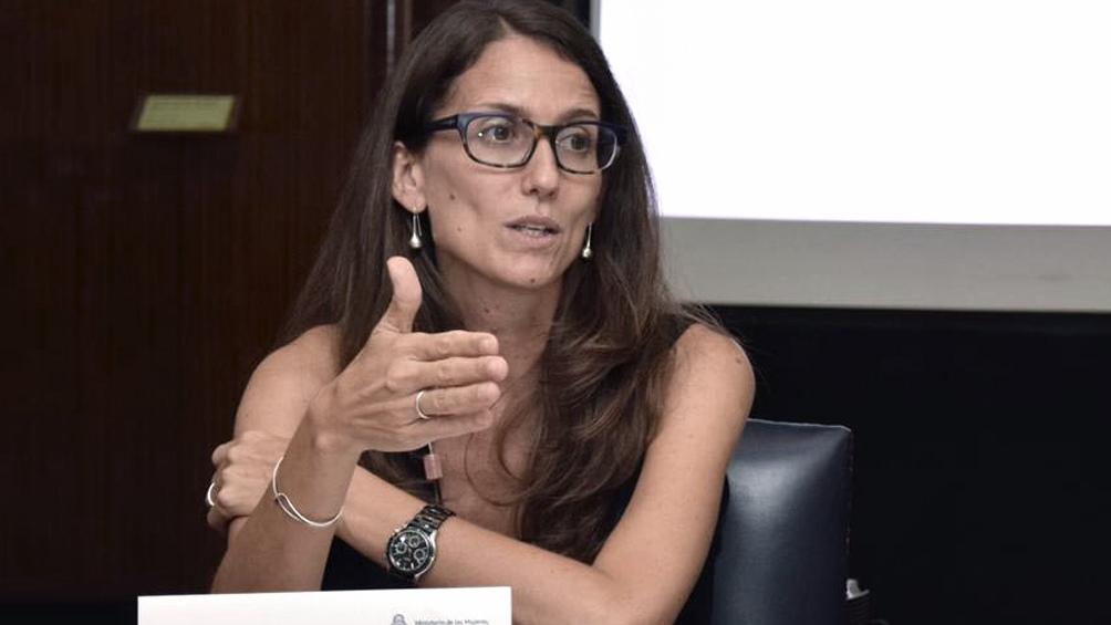 Elizabeth Gómez Alcorta, ministra de las Mujeres, Géneros y Diversidades.