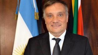 Edgardo Esteban dialogará con el embajador argentino ante el Reino Unido, Javier Figueroa