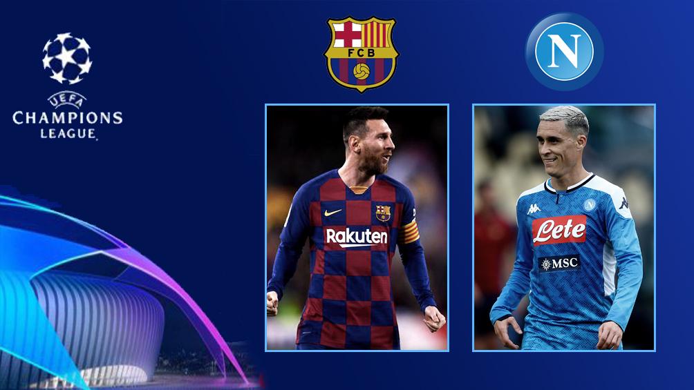 Barcelona busca ante Nápoli el pase a cuartos de final