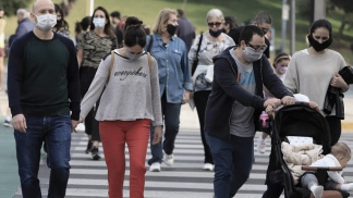 El AMBA concentró desde el inicio de la pandemia el mayor número de contagios.