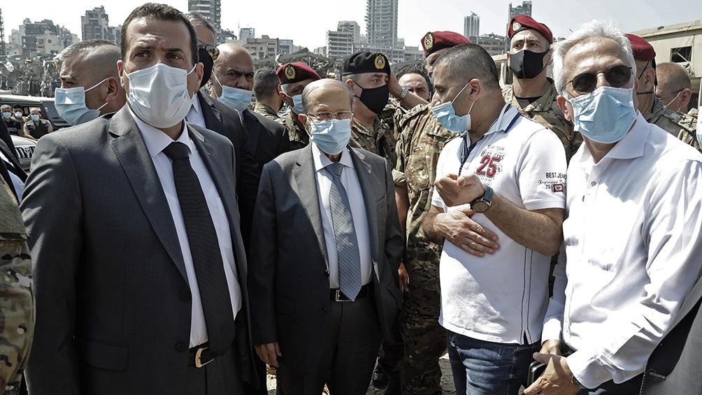 La causa de las explosiones no se ha determinado todavía , dijo el presidente