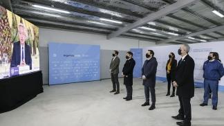 Alberto Fernández y Kicillof inauguraron nuevas plazas penitenciarias
