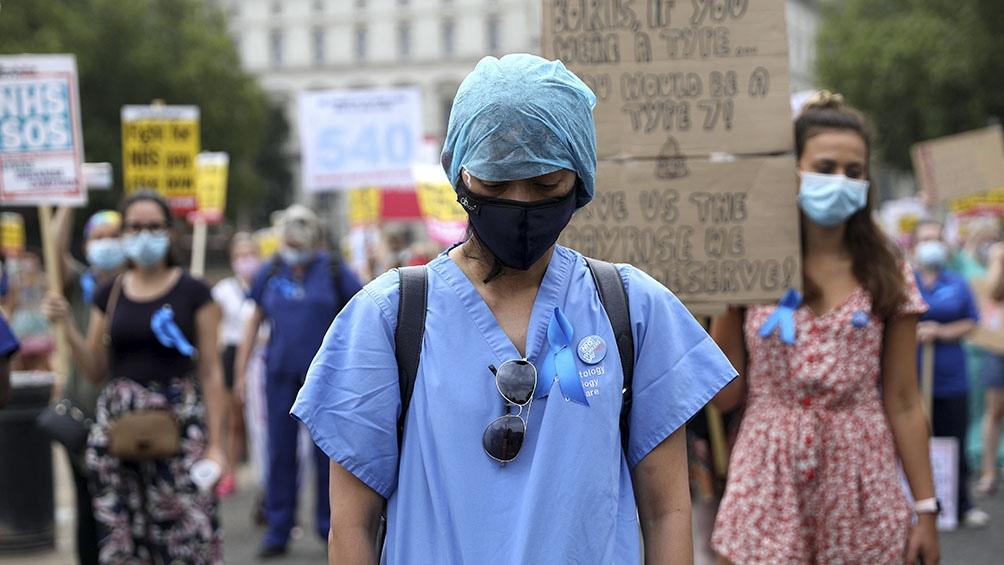 Estados Unidos sigue por amplio margen como el país más afectado del mundo, con 4,8 millones de contagios.