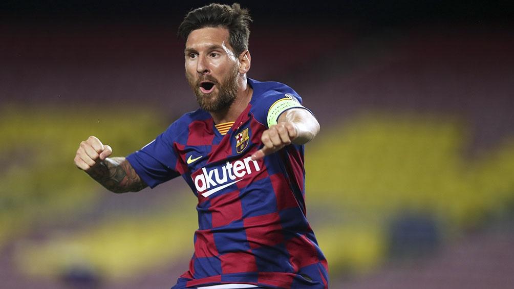Messi suma 115 goles en la historia de la Champions