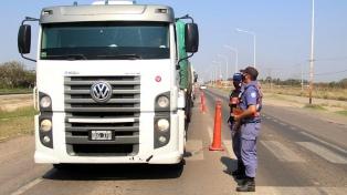 Las nuevas medidas de circulación para transportes internacionales arrancan el miércoles