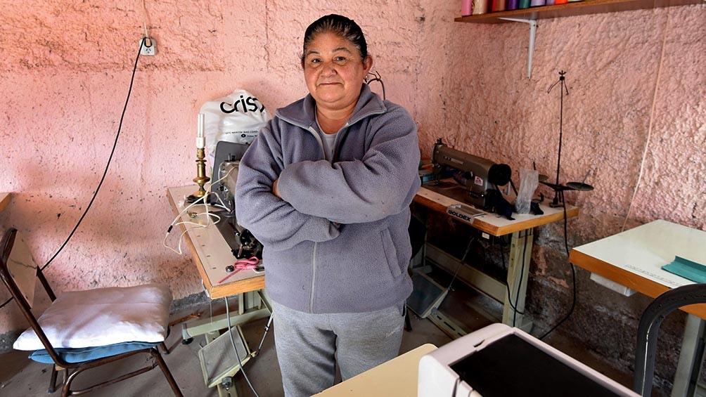 Adriana Gómez, orgullosa con el emprendimiento que impulsa desde el 2004.