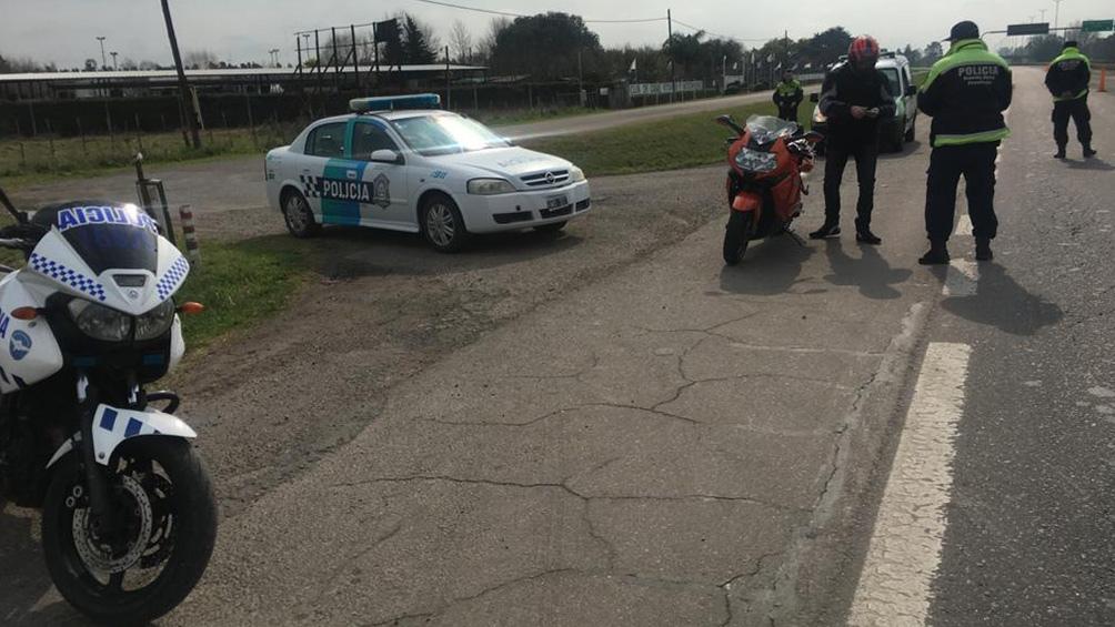 Demoran a más de 30 motociclistas que participaron de una picada ...