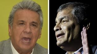 A seis meses de las presidenciales, Lenín Moreno y Correa buscan definir a sus candidatos