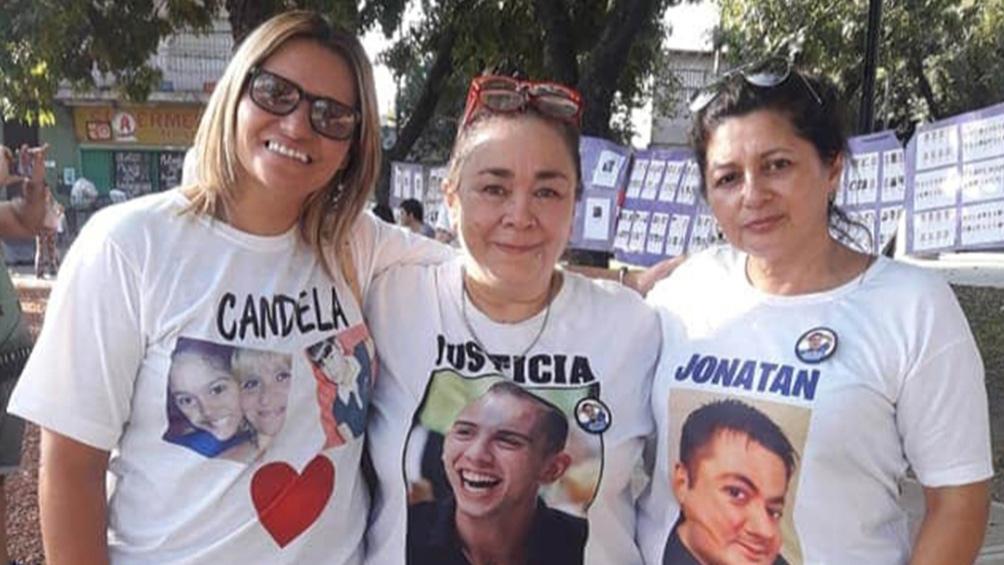 """La familia de Kevin se sumó a la ONG """"Resurgir después de vos"""", que ayuda a familias víctimas de casos de inseguridad en el partido de Tres de Febrero."""