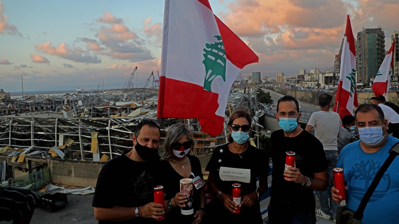 """Acusan de """"negligencia criminal"""" a autoridades por la explosión del puerto de Beirut"""