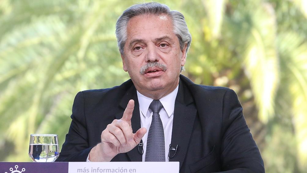 """Alberto Fernández celebró que la mujer """"participe hoy de la obra pública"""" - Télam - Agencia Nacional de Noticias"""