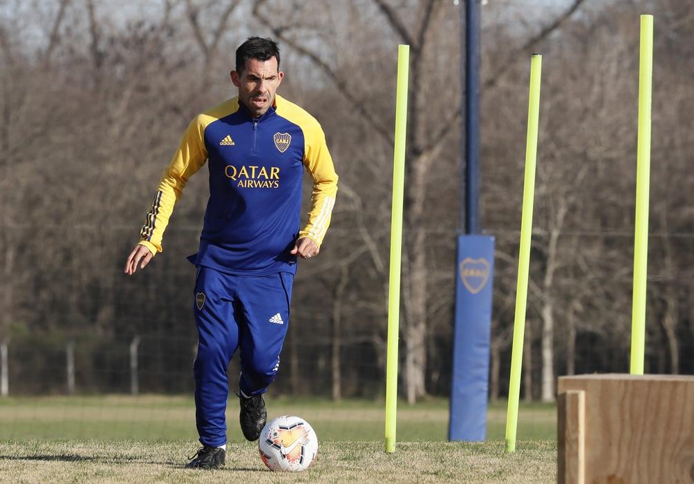 Tevez se ausentó ocho días a los entrenamientos
