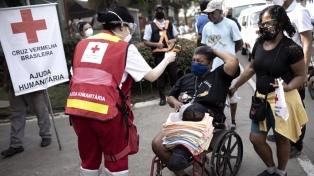 La Cruz Roja denunció que 232.993 trabajadores sanitarios de Brasil se contagiaron