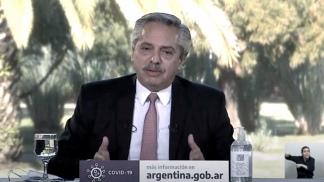 Fernández participará de la charla por videoconferencia desde la residencia de Olivos