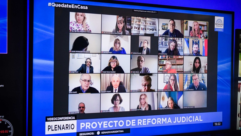 Tercera audiencia sobre el proyecto de Ley de Reforma Judicial.