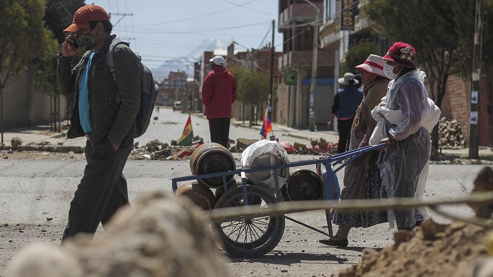 Bolivia cumplió nueve días de protestas contra el aplazamiento de las elecciones