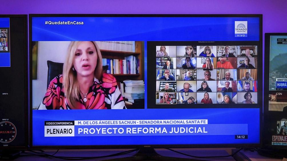 El proyecto para reformular el Poder Judicial recibió dictamen de mayoría en un plenario de comisiones del Senado,