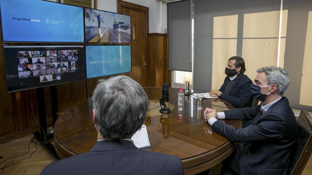 """Meoni resaltó el compromiso de los fiscalizadores """"para administrar una situación crítica""""."""