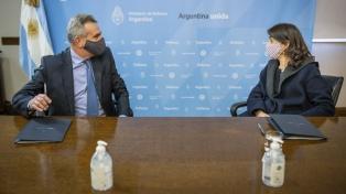 Rossi y Bielsa firman un convenio para desarrollar planes habitacionales