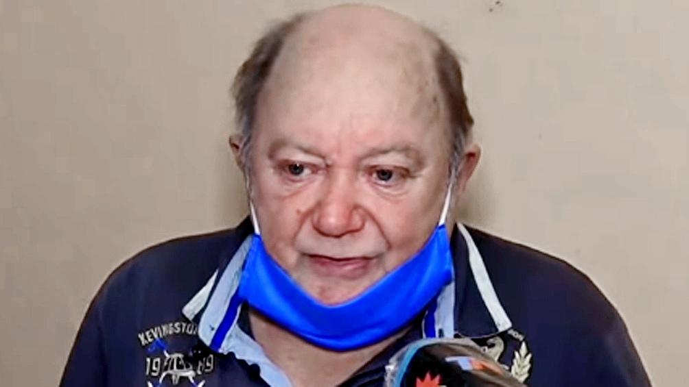 Jorge Ríos, de 71 años.