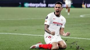 El argentino Ocampos anotó un gol en el triunfo de Sevilla en La Liga de España