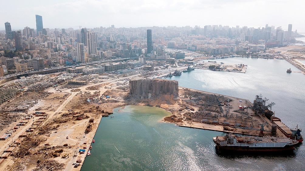 El puerto es crucial para la recuperación económica del país