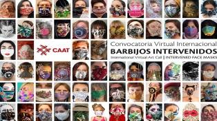 Una muestra virtual reúne barbijos intervenidos por artistas de América, Europa y Asia