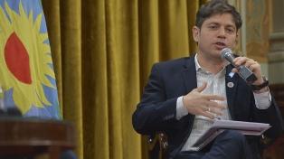 "Kicillof evaluó que ""es muy difícil de discutir"" la decisión gubernamental sobre telecomunicaciones"