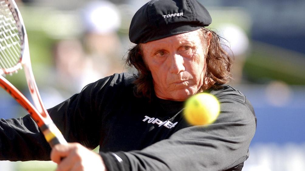 El Gran Willy. Guillermo Vilas ganó 4 de los 7 Grand Slam que conquistó el tenis argentino.