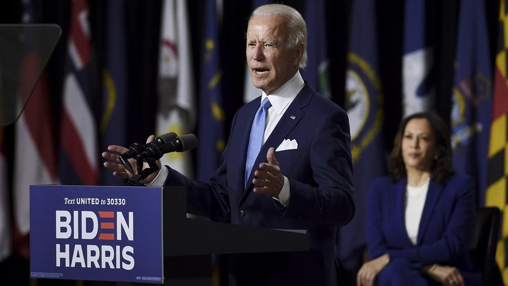 Tanto Harris como Biden apuntaron sus dardos a Trump