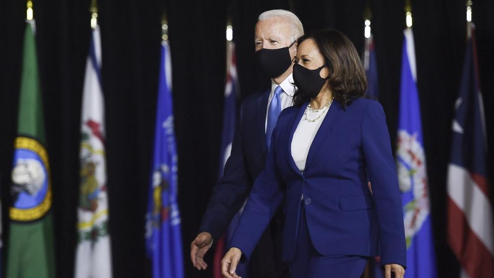 La formula Biden-Harris intentará arribar a la Casa Blanca el 3 de noviembre