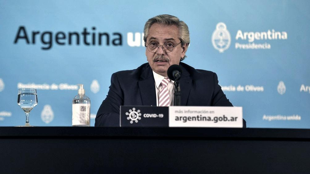 """Alberto Fernández pidió a la ciudadanía que entienda que """"el virus está y no se ha ido"""""""