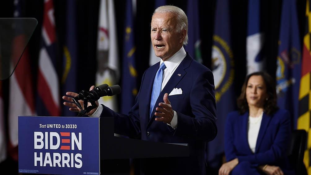 Biden se preparaba este lunes para cosechar el apoyo de varios sindicatos