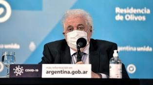 González García destacó la importancia del proyecto oficial sobre interrupción legal del embarazo
