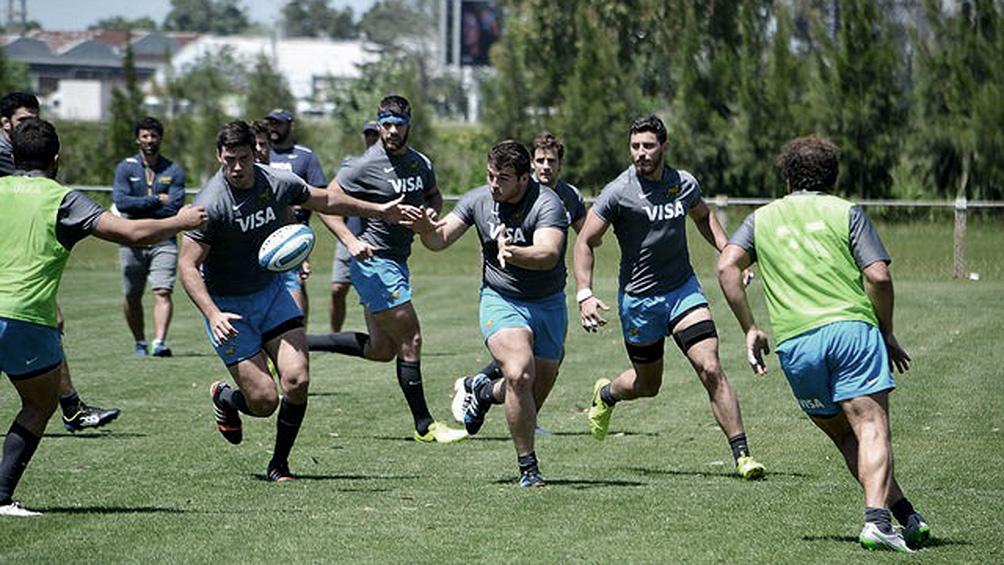 Los Pumas recuperan lesionados y se preparan para jugar ante Waratahs