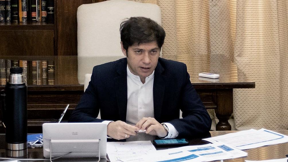 Axel Kicillof, gobernador de la provincia de Buenos Aires