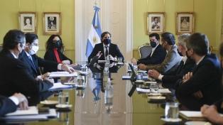 El gabinete de Promoción Federal se reunirá este martes en la Casa Rosada
