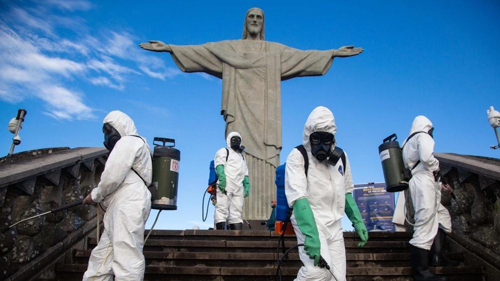 Brasil es el segundo país más afectado, con casi 108.000 muertos y más de 3,3 millones de casos confirmados.