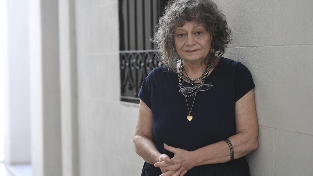 Rita Segato, otra de las autoras que es de la partida.
