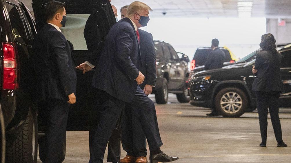 Trump se negó a proporcionar detalles sobre la enfermedad de su hermano