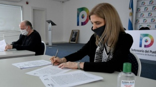 Télam y la Defensoría del Pueblo porteño firmaron acuerdo para luchar contra la violencia de género