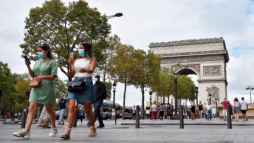El registro oficial de Francia dice que hay 10.569 casos de coronavirus en las últimas 24 horas