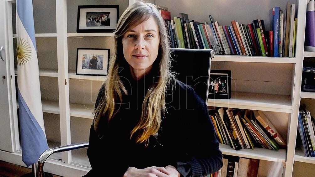 La directora de Escuelas bonaerense, Agustina Vila.