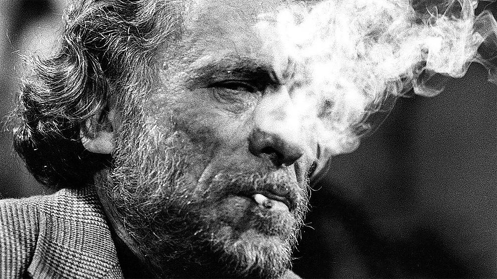 Charles Bukowski, nacido en Andermach, Alemania, el 16 de agosto de 1920