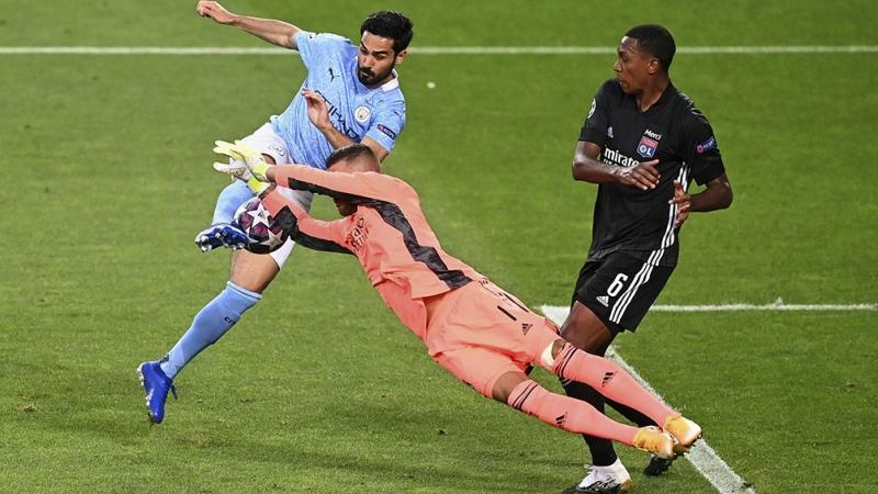 Manchester City, sin Agüero ni Otamendi, perdió con Lyon y quedó eliminado - Télam - Agencia Nacional de Noticias